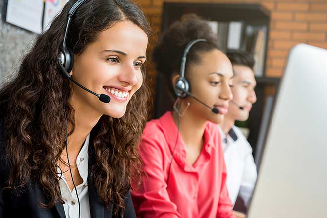 setting up a call center