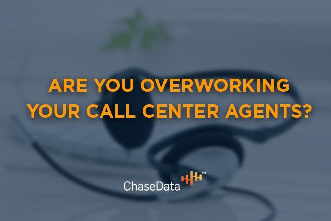 call center agent workload