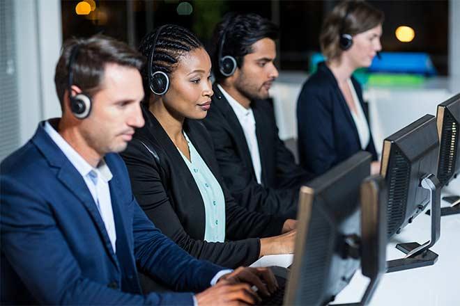 blended call center solutions