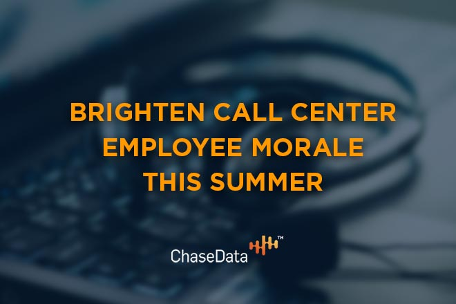 call center employee morale