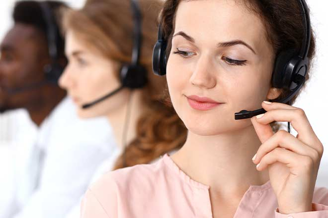 customer service call center agent