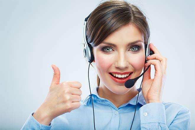remote call center agents