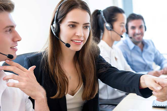 coaching call center agents