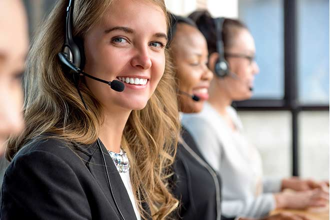 happy call center