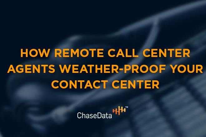 remote call center agents