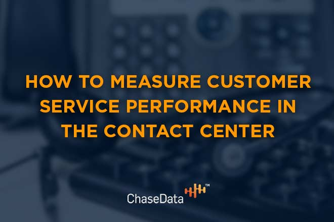 how to measure customer service performance