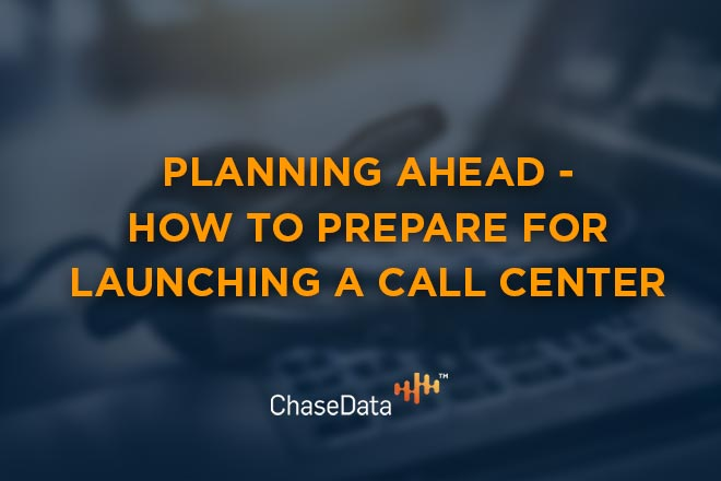 Launching a call center