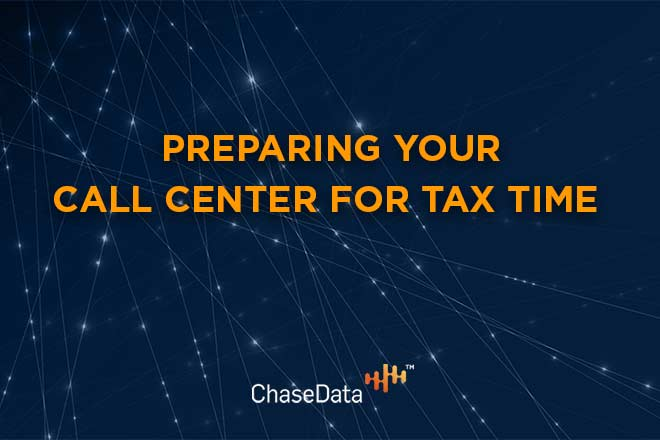 Prepare your call center for tax time