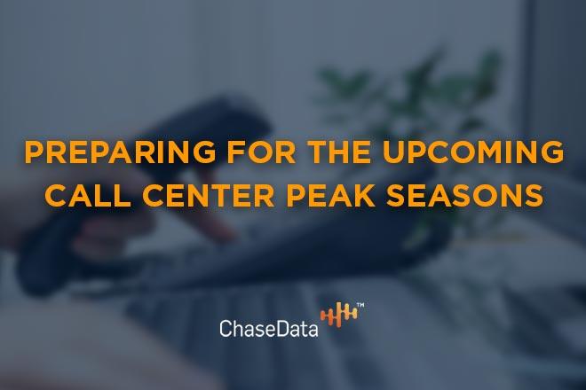 call center peak seasons