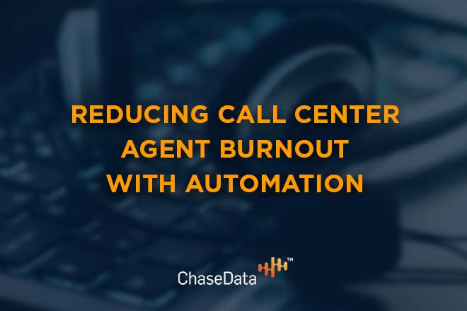 Call center agent burnout