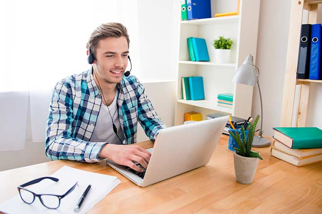 home based call-center software