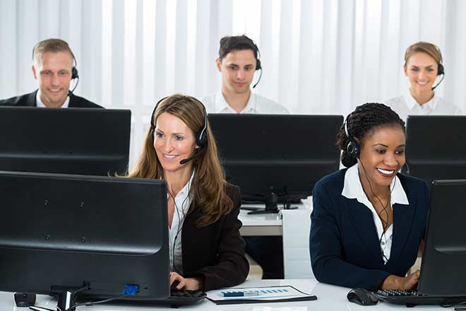 multi-site contact center