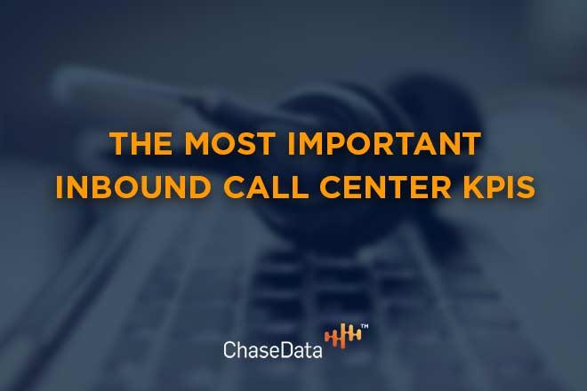 inbound call center KPIs