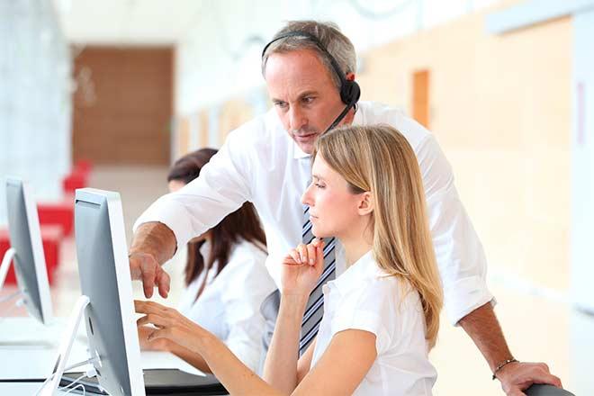 call center supervisor goals