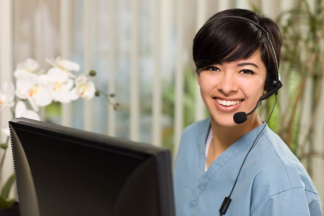 Healthcare call center metrics