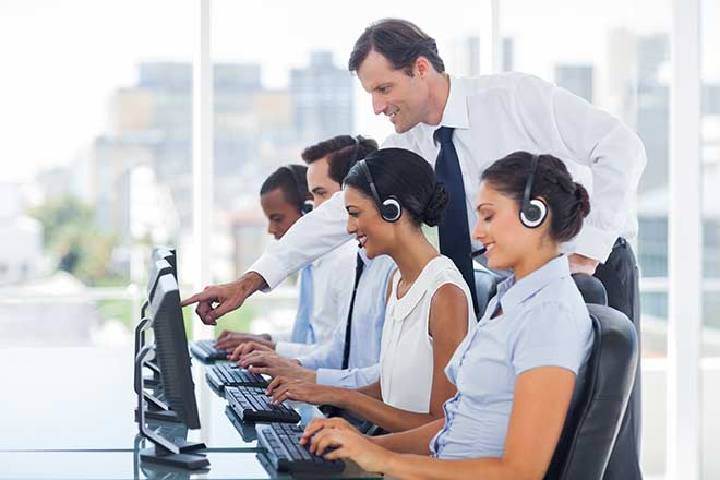 training call center agents