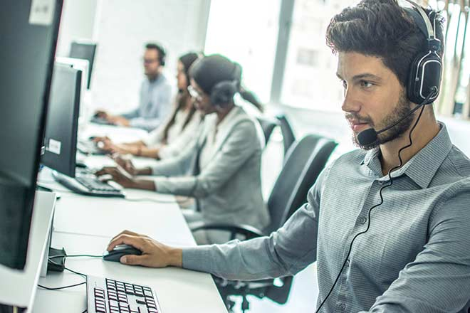 what is a warm transfer in a call center