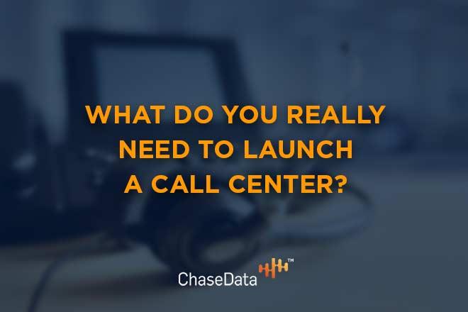 launch a call center