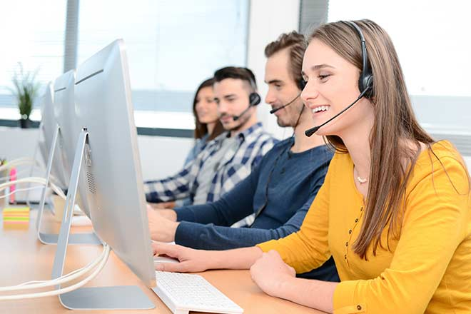 What is an inbound call center