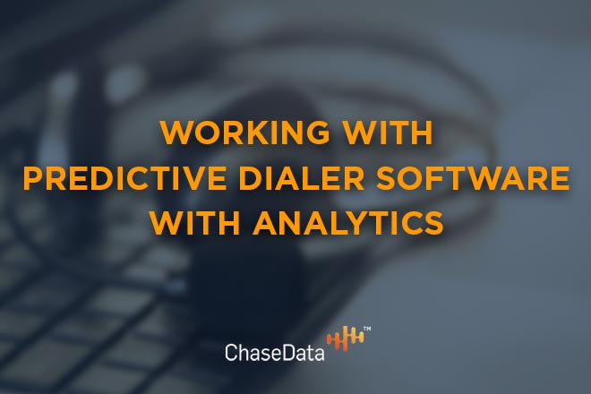 predictive dialer software with analytics