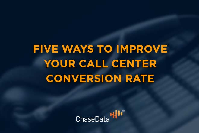 Five Ways To Improve Your Call Center